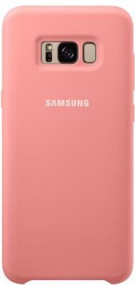 Чехол Samsung EF-PG955TPEGRU для Samsung Galaxy S8+ Silicone Cover розовый projector lamp bulb an xr20l2 anxr20l2 for sharp pg mb55 pg mb56 pg mb56x pg mb65 pg mb65x pg mb66x xg mb65x l with houing