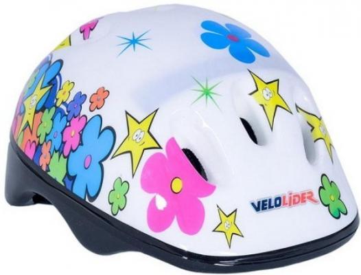 Шлем велосипедный Velolider Цветы 172079 VLF1