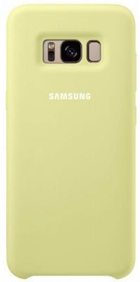 Чехол Samsung EF-PG950TGEGRU для Samsung Galaxy S8 Silicone Cover зеленый клип кейс samsung silicone cover для galaxy s8 зеленый