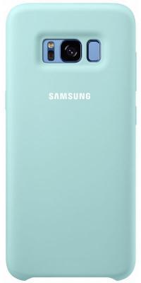 Чехол Samsung EF-PG950TLEGRU для Samsung Galaxy S8 Silicone Cover голубой чехол для сотового телефона samsung galaxy s8 silicone violet ef pg955tvegru