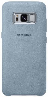 Чехол Samsung EF-XG950AMEGRU для Samsung Galaxy S8 Alcantara Cover голубой samsung ef bt715 book cover чехол для galaxy tab s2 8 0 black