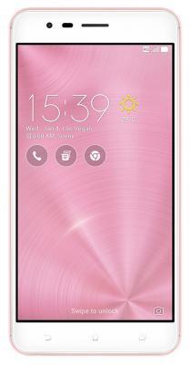 Смартфон ASUS ZenFone 3 Zoom ZE553KL розовый 5.5 64 Гб LTE Wi-Fi GPS 3G 90AZ01H4-M01460 удлинитель zoom ecm 3