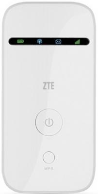 Фото - Модем 2G/3G ZTE MF65M USB + Router внешний белый zte mf65m white