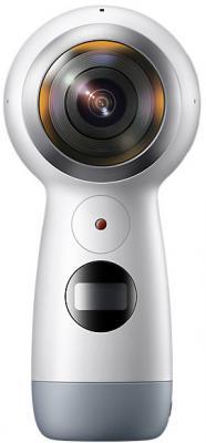 купить Экшн-камера Samsung Gear 360 SM-R210N синий по цене 13980 рублей