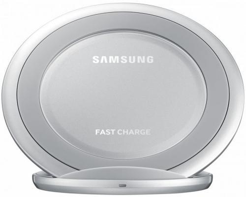 Беспроводное зарядное устройство Samsung EP-NG930BSRGRU USB 2А серебристый сетевое зарядное устройство samsung ep ta20ebecgru usb type c 2 1а чёрный