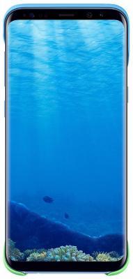 Чехол Samsung EF-MG955CLEGRU для Samsung Galaxy S8+ 2Piece Cover персиковый/голубой чехол samsung ef mg955cvegru для samsung galaxy s8 2piece cover зеленый фиолетовый