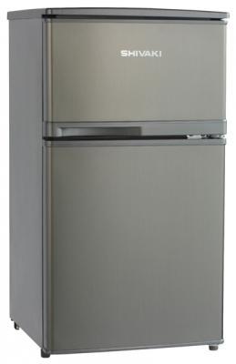 Холодильник SHIVAKI SHRF-91DS серебристый