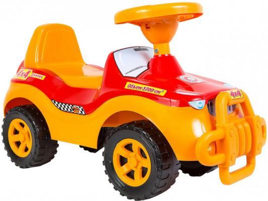 Каталка-машинка R-Toys ОР105к желтый от 8 месяцев пластик каталка orion toys каталка джипик полиция 105 пол