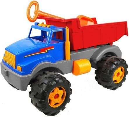 Автомобиль RT Супермаг BIG (большая лопатка) сине-красный