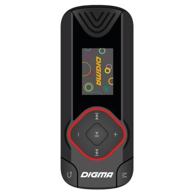 Плеер Digma R3 8Gb черный