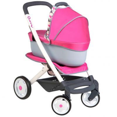 Коляска-трансформер для кукол Smoby MC&Quinny 253197 коляска для кукол smoby прогулочная baby nurse