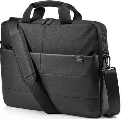 """Рюкзак для ноутбука 15.6"""" HP Classic Briefcase синтетика черный 1FK07AA"""