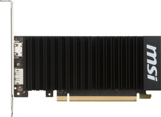Видеокарта 2048Mb MSI GeForce GT1030 PCI-E GDDR5 64bit HDMI DP HDCP GT 1030 2GH LP OC Retail