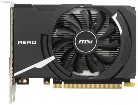 Видеокарта 2048Mb MSI GeForce GT1030 PCI-E GDDR5 64bit DVI HDMI HDCP GT 1030 AERO ITX 2G OC Retail