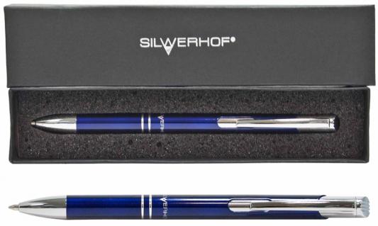 Шариковая ручка автоматическая Silwerhof Optimum — ручка шариковая автоматическая flexoffice trendee 0 5мм красная