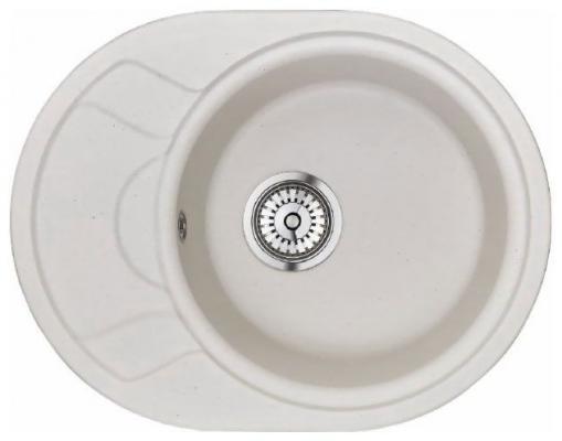 Мойка Weissgauff ASCOT 575 Eco Granit белый  цена и фото
