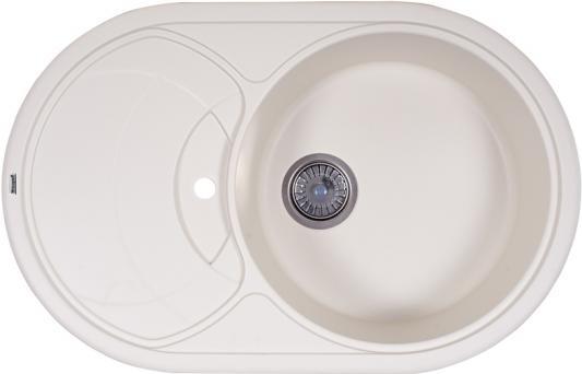 Мойка Weissgauff ASCOT 780 Eco Granit белый  цена и фото