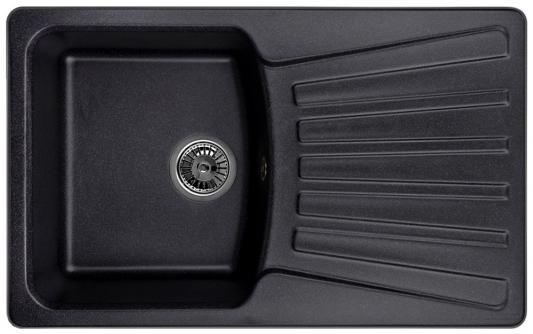Мойка Weissgauff CLASSIC 800 Eco Granit черный  weissgauff classic 800 eco granit серый шёлк