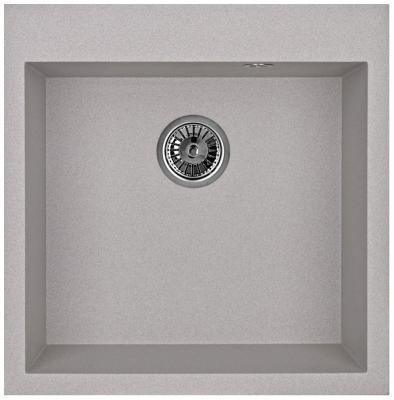 Мойка Weissgauff QUADRO 505 Eco Granit серый шелк