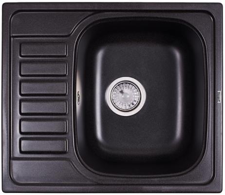 Мойка Weissgauff QUADRO 575 Eco Granit черный