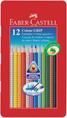 Набор цветных карандашей Faber Castell 112413 12 шт металлическая коробка набор цветных карандашей faber castell