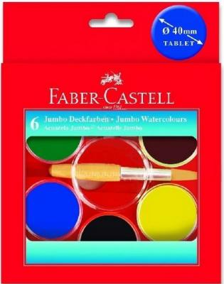 Акварель Faber-Castell Jumbo 6 цветов 125007 вентиль grohe eggemann design handle 41010000