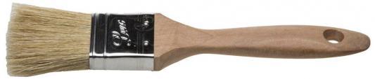 Кисть плоская Stayer Universal-Lux светлая натуральная щетина деревянная ручка 25мм 01053-025 цена в Москве и Питере