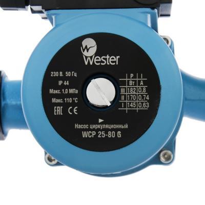 Насос циркуляционный Wester WCP 25-80G