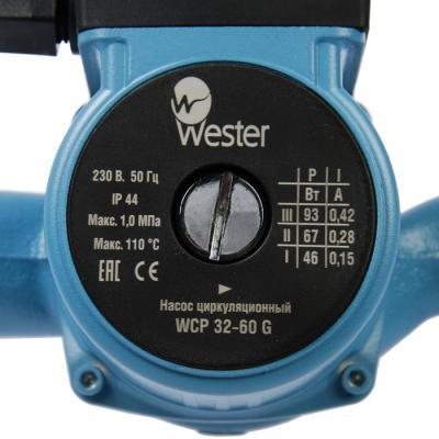 Насос циркуляционный Wester WCP 32-60G насос циркуляционный lakes