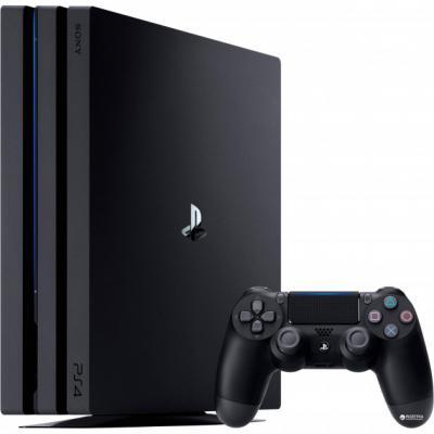 Игровая приставка Sony PlayStation 4 Pro 1Tb CUH-7008B цена 2017