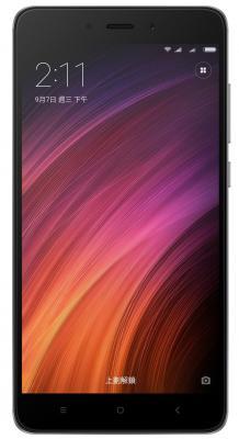 Смартфон Xiaomi Redmi Note 4 серый 5.5 32 Гб LTE Wi-Fi GPS 3G смартфон asus zenfone live zb501kl золотистый 5 32 гб lte wi fi gps 3g 90ak0072 m00140