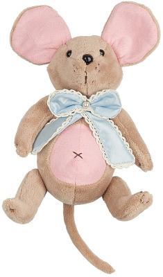 """Мягкая игрушка мышка Fluffy Family Вaby mouse """"Бусинка"""" разноцветный искусственный мех текстиль  681211"""