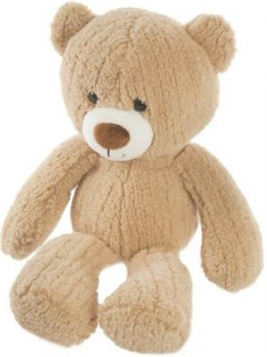 Мягкая игрушка медведь Fluffy Family Мишка Тимка 23 см бежевый текстиль  681253 fluffy family мишка тепа 21 см