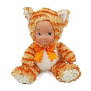 Купить Мягкая игрушка Fluffy Family Мой котенок текстиль, рыжий, Животные
