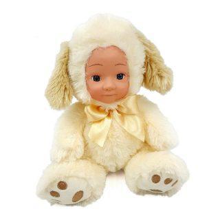 Мягкая игрушка Fluffy Family Мой щенок текстиль белый 20 см
