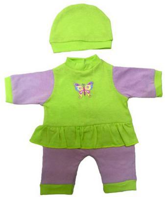 Одежда для куклы Mary Poppins 38-43см, комбинезон с шапочкой Бабочка 214