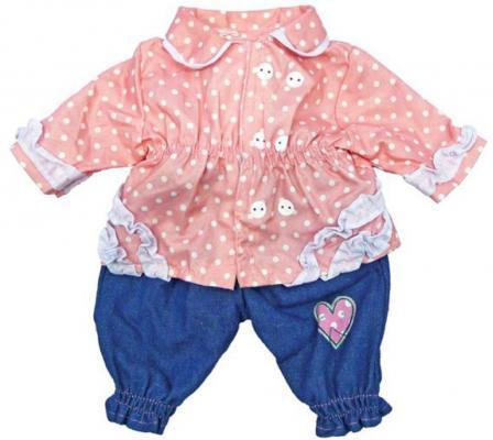 """Одежда для кукол Mary Poppins """"Кофточка и штанишки"""" 38-43см"""