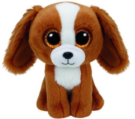 """Мягкая игрушка щенок TY """"Tala"""" 15 см коричневый искусственный мех текстиль  37224"""