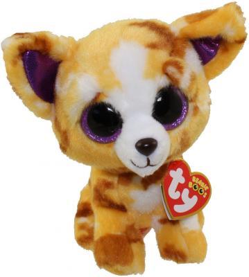 """Мягкая игрушка щенок TY """"Pablo"""" 15 см разноцветный плюш  37171"""