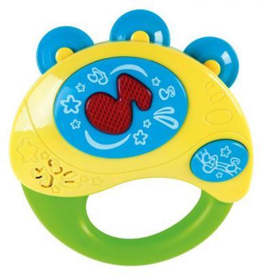 Интерактивная игрушка Жирафики Бубен 633229 от 1 года разноцветный