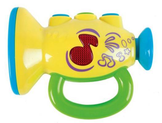 Интерактивная игрушка Жирафики Труба 633227 от 2 лет разноцветный интерактивная игрушка жирафики бубен 633229 от 1 года разноцветный
