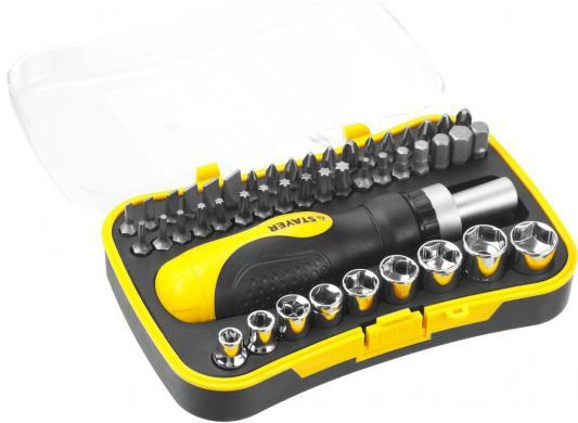 Набор отверточный Stayer Master Techno 46шт 25084-H46 набор инструментов 1 2 46шт hans 4646ma