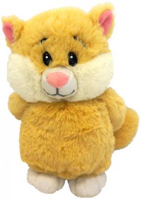 Мягкая игрушка кот MAXITOYS Кот Романтик 20 см желтый текстиль искусственный мех  MP-HH-R9037E