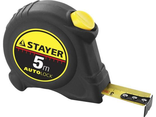 Подробнее о Рулетка Stayer Master Autolock 5мх25мм 2-34126-05-25_z01 пневмоинструмент stayer master 06482