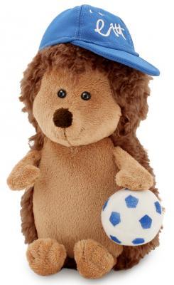 """Мягкая игрушка ежик ORANGE """"Колюнчик с мячиком"""" 20 см коричневый искусственный мех трикотаж  OS634/20"""