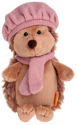 Мягкая игрушка ежик ORANGE Колючка в берете искусственный мех коричневый 26 см мягкая игрушка собака orange чихуа kiki малиновый блеск текстиль искусственный мех розовый коричневый 25 см ld010