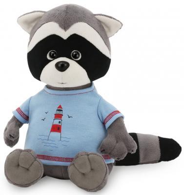 """Мягкая игрушка ORANGE """"Енотик Дэнни"""" - Маяк 20 см серый искусственный мех текстиль  OS630/20"""