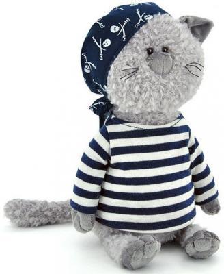 Мягкая игрушка ORANGE Кот-обормот - Пират текстиль серый 30 см мягкая игрушка кот серый 40см