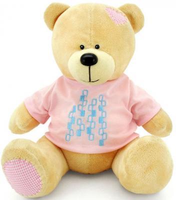 """Мягкая игрушка медведь ORANGE """"Топтыжкин"""" 20 см желтый плюш текстиль  МА1980/20"""