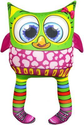 Антистрессовая игрушка сова Оранжевый кот Совенок 03 трикотаж полистирол разноцветный 34 см 601527